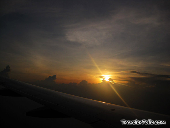sunset-above-cloud-aerial-view