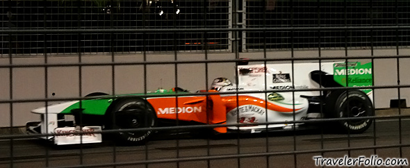force-india-f1-race-car