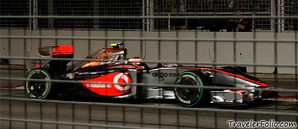 vodafone-mclaren-mercedes-f1-car