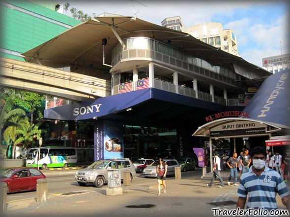 bukit-bintang-monorail-station
