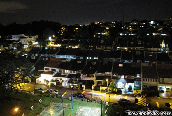 malaysia-kl-terrace-house-night