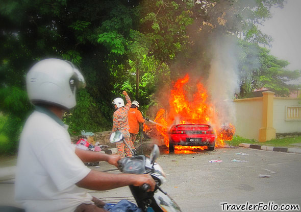 car-on-fire