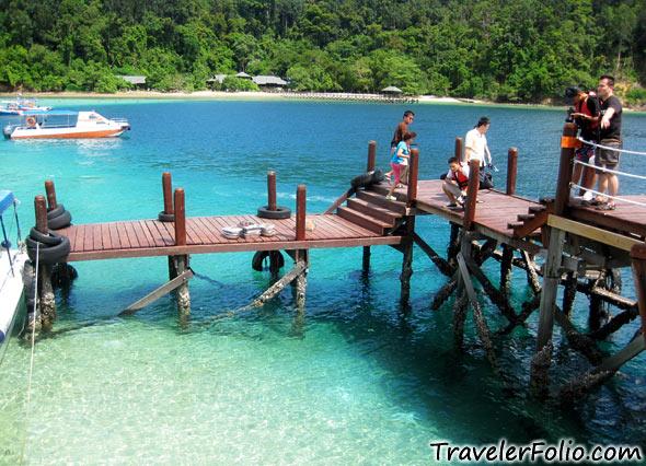 沙巴の亞庇, 讓你我了解更多 Pulau-sapi-dock