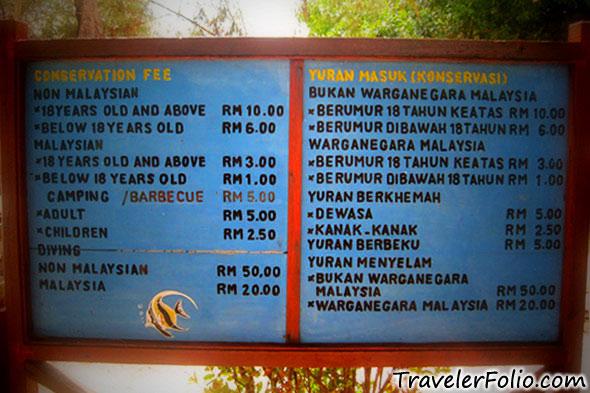 tunku-abdul-rahman-marine-park-conservation-fee