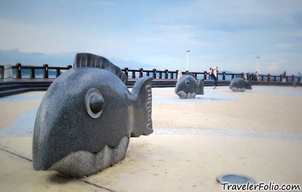 fish-statue-waterfront-kota-kinabalu
