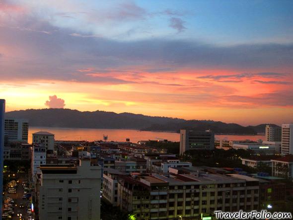 sunset-waterfront-kota-kinabalu