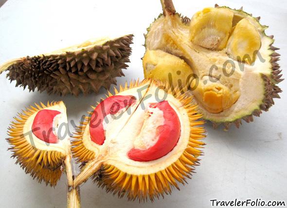 yellow-flesh-durian-vs-red-fresh-durian