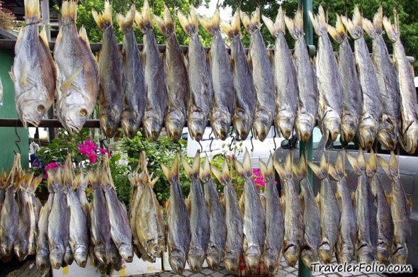 Coloane macau island village macao tourist attraction for Chinese salted fish