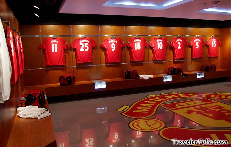 Old Trafford Locker Room