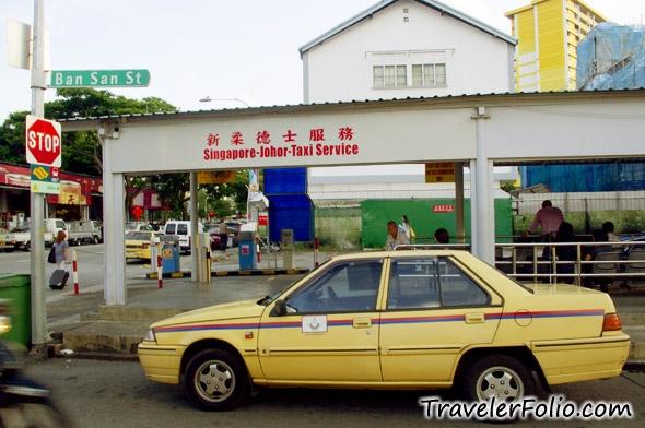 Singapore Malaysia Taxi
