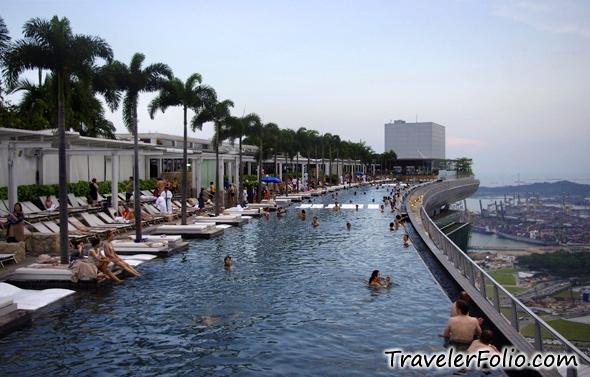 Sands skypark marina bay sands infinity pool ku d ta - Marina bay sands infinity pool ...