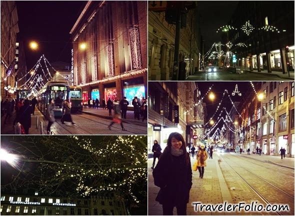 Helsinki Christmas Sightseeing, lights |Santaland, Finland ...