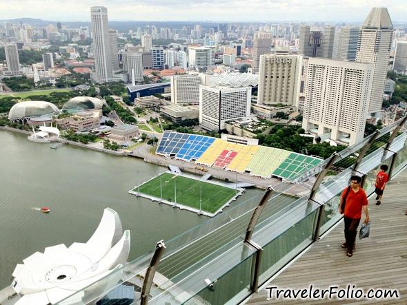 Skypark Observation Deck Marina Bay