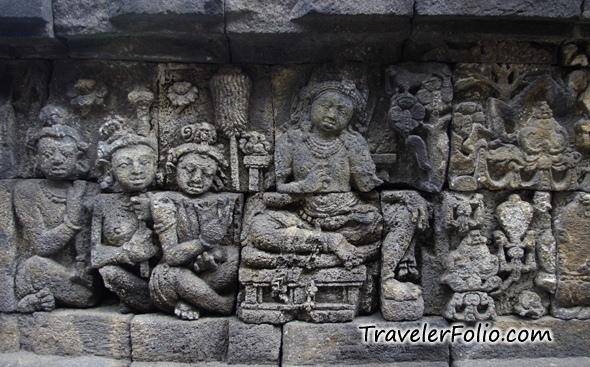 Borobudur temple world largest buddhist
