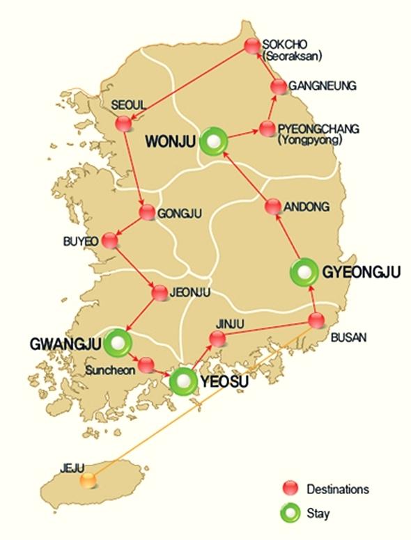 Gyeongju & Andong | Korea with K-Shuttle bus tour ...