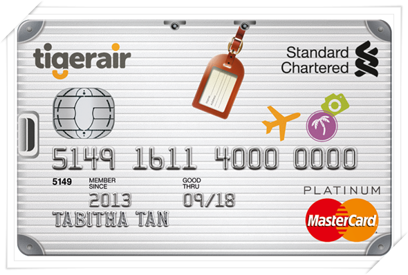 Standard chartered tigerair platinum credit card benefits these days reheart Gallery