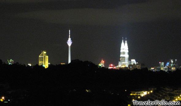 Kuala lumpur night scene travelerfolio travel - Vietnam airlines kuala lumpur office ...