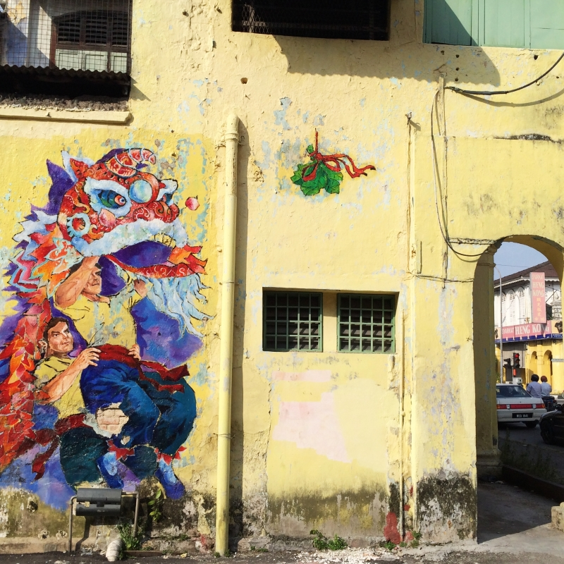 Ipoh Street Art Wall Paintings Murals Malaysia