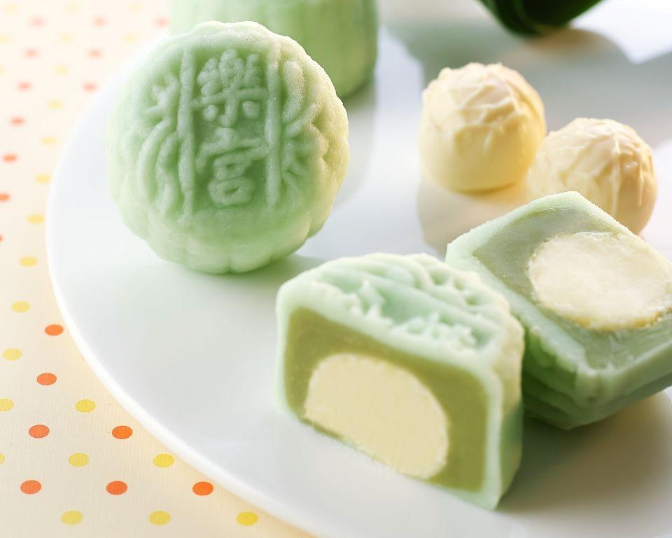 Imperial Jade & Coconut Truffle