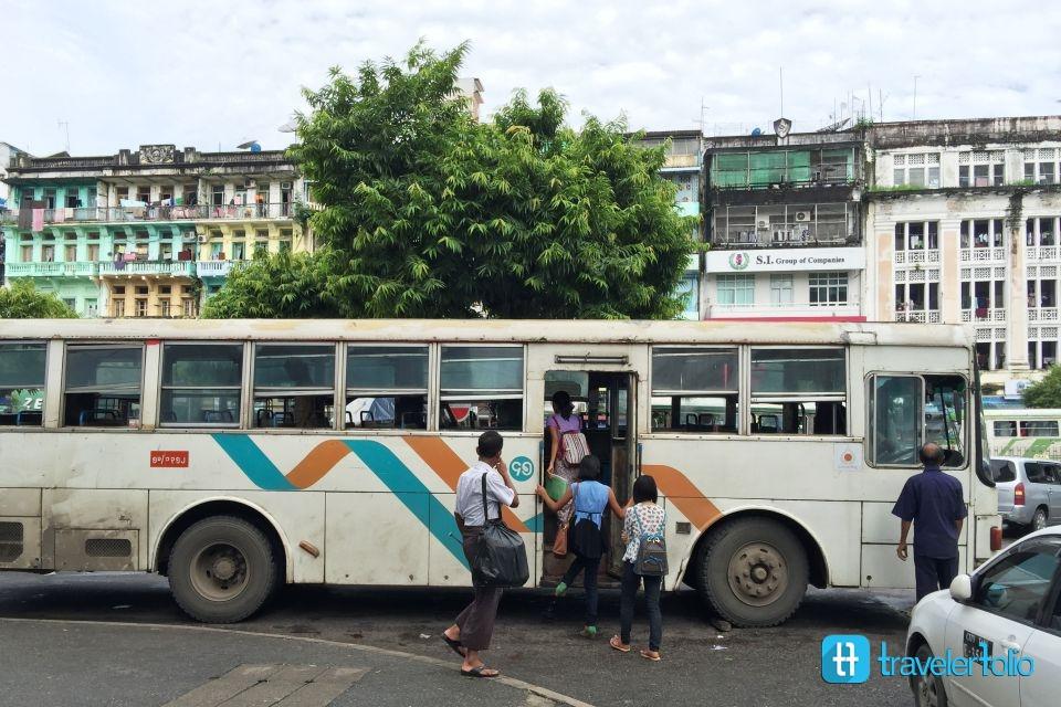 public-bus-yangon-myanmar