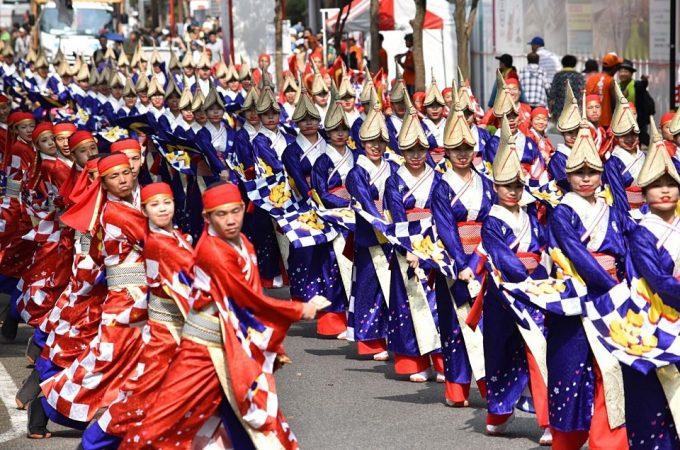 festival parade japan