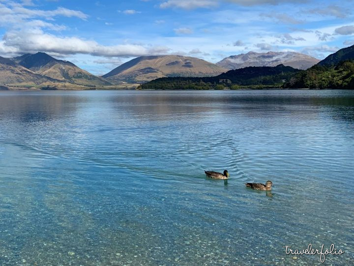 Lake Wakatipu calm waters