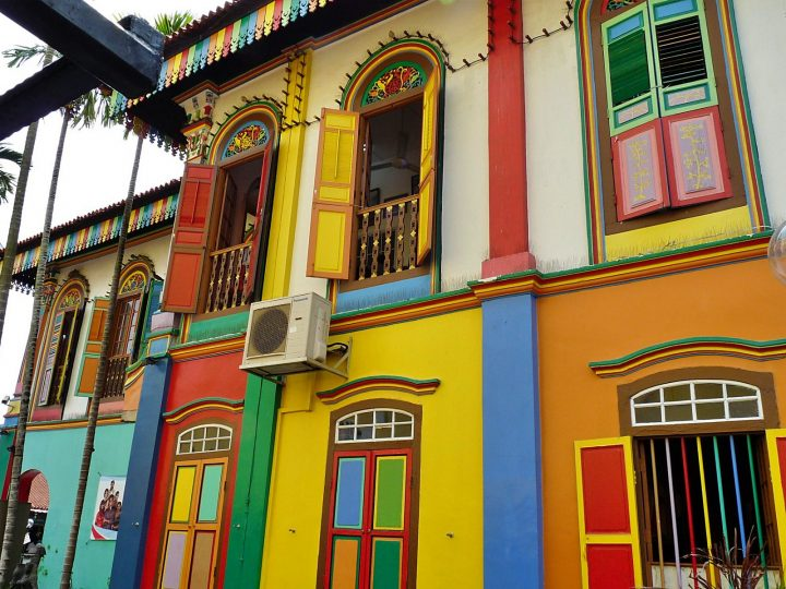 Colorful architecture of Little India