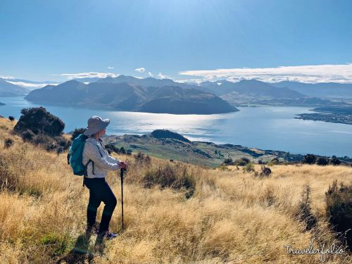 Hiking Roy's Peak Track