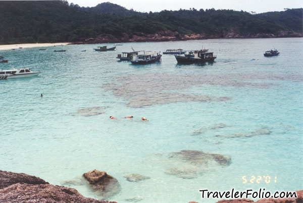 how to go redang island from singapore