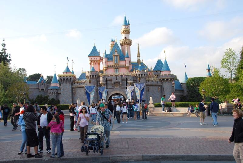 disneyland california castle. and Disney#39;s California