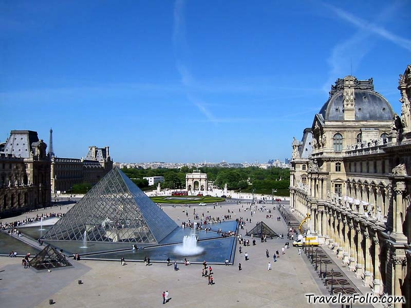Louvre museum the world famous