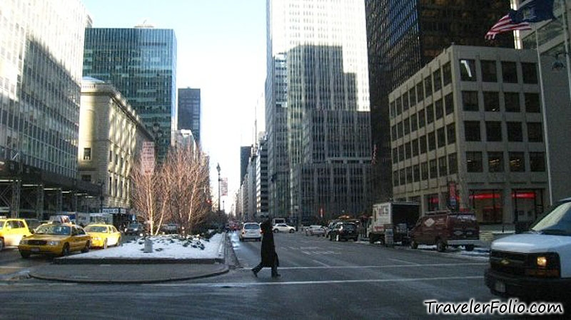 New York City in snow - Travel Blog Singapore