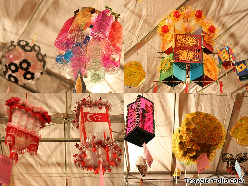 Mid autumn festival legends photos chinatown for Handicraft made by waste material