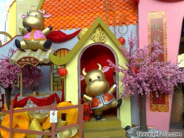 Chinese New Year decoration |Chinatown, Singapore ...