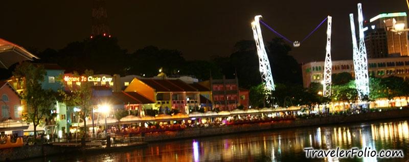 clarke quay singapore nightlife