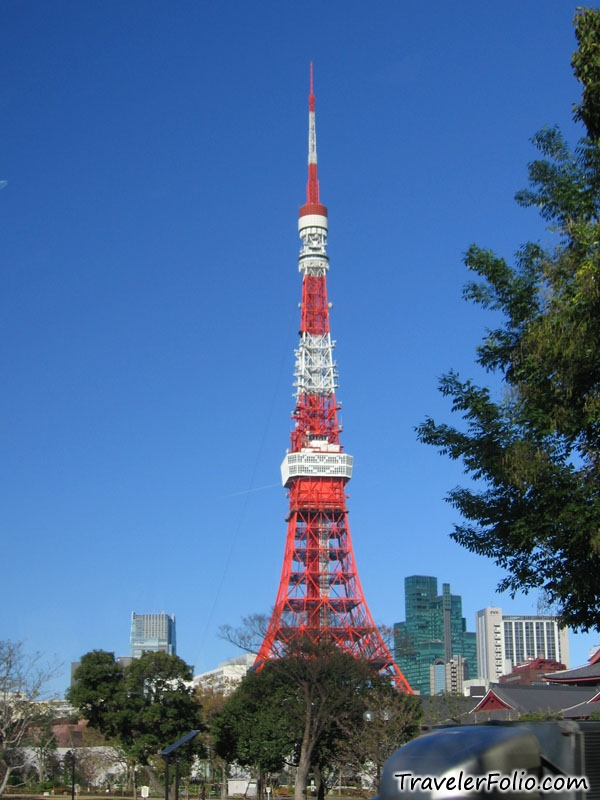 the tokyo tower  as the name