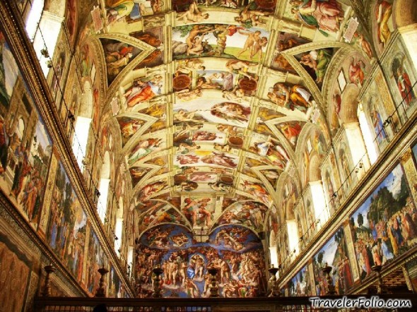 Sistine Chapel, Vatican City, Rome