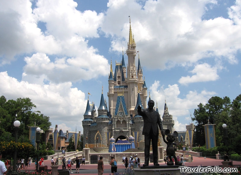 Other Disney resorts around the world may have Sleeping Beauty Castle